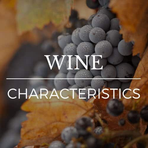 Withington Wines Characteristics